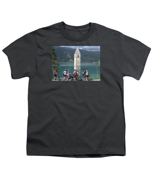 Tower In The Lake Youth T-Shirt
