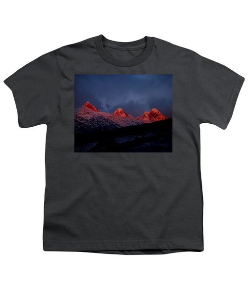 West Side Teton Sunset Youth T-Shirt