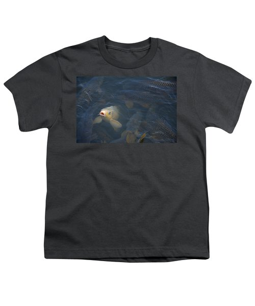White Carp In The Lake Youth T-Shirt