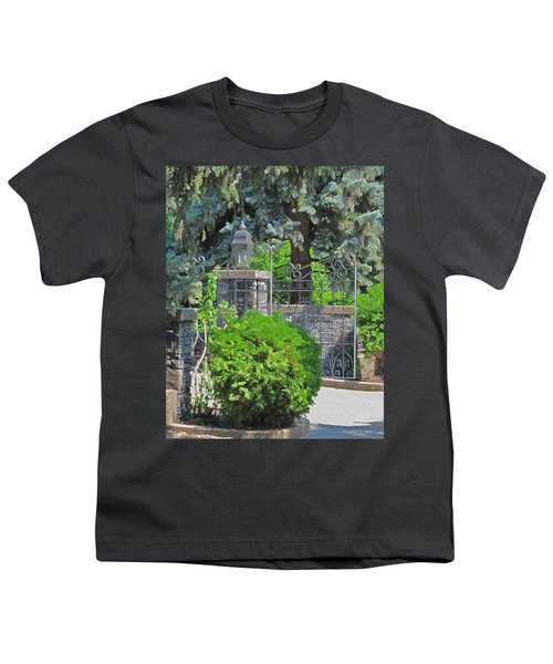 Wrought Iron Gate Youth T-Shirt