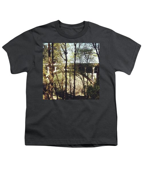 Bridge Over Lake Oswego Creek Youth T-Shirt