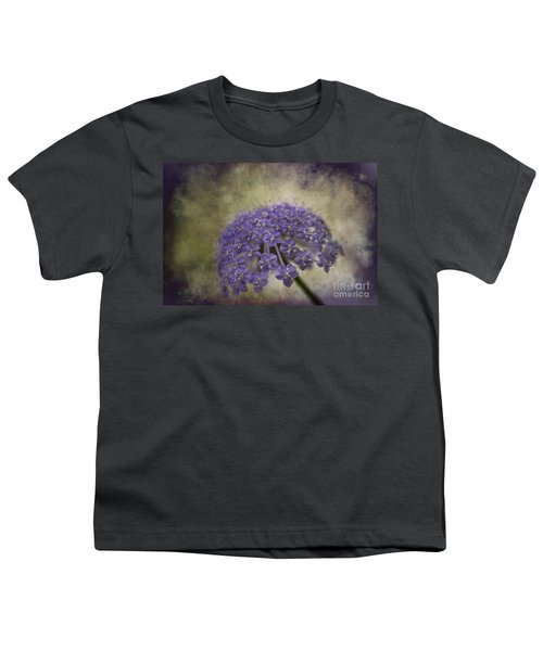 Youth T-Shirt featuring the photograph Moody Blue by Clare Bambers