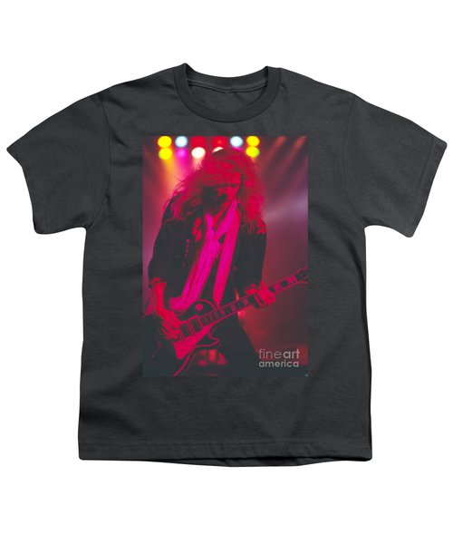 Steve Clarke Youth T-Shirt by David Plastik