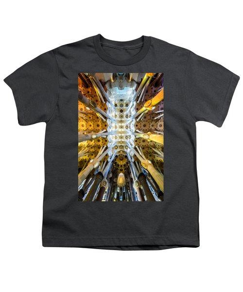 Basilica De La Sagrada Familia Youth T-Shirt