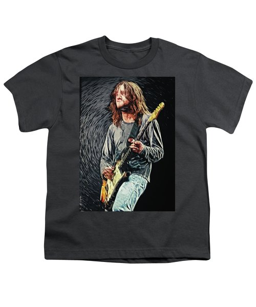 John Frusciante Youth T-Shirt by Taylan Apukovska