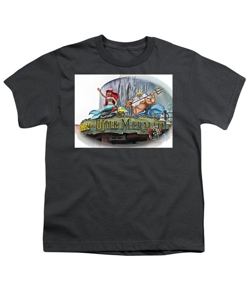 Little Mermaid Signage Mp Youth T-Shirt