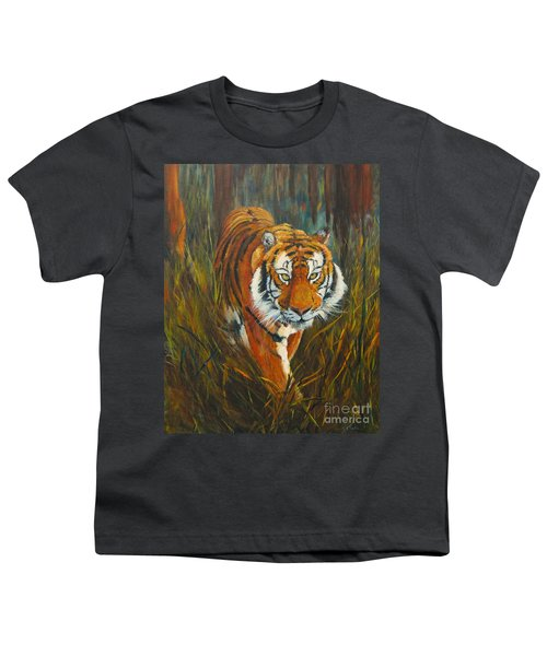 Out Of The Woods Youth T-Shirt by Beatrice Cloake