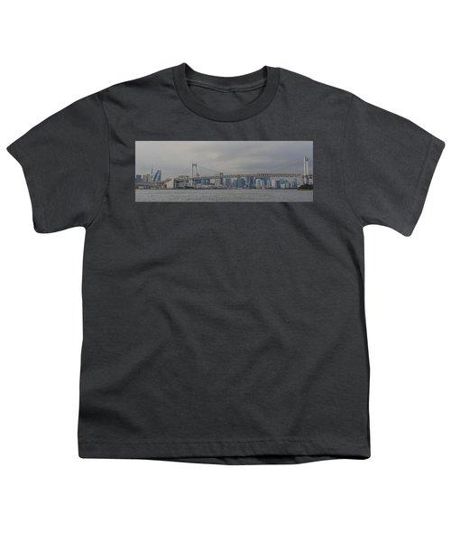 Rainbow Bridge Youth T-Shirt by Megan Martens