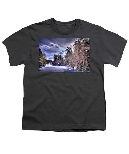 Youth T-Shirt featuring the photograph The Beaver Brook Boathouse by David Patterson