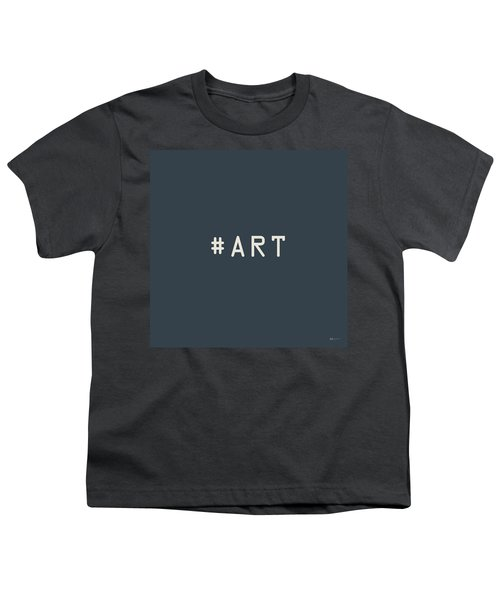 The Meaning Of Art - Hashtag Youth T-Shirt by Serge Averbukh