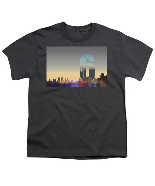 Toronto Skyline - The Six Youth T-Shirt