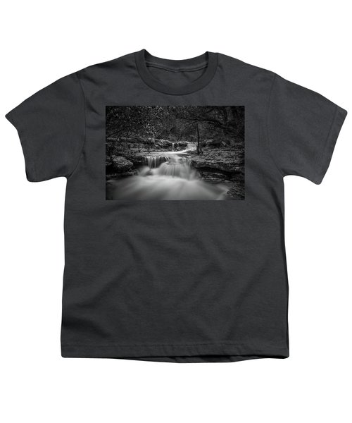 Waterfall In Austin Texas Youth T-Shirt