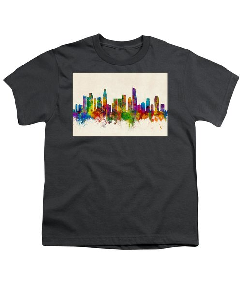 Los Angeles California Skyline Youth T-Shirt
