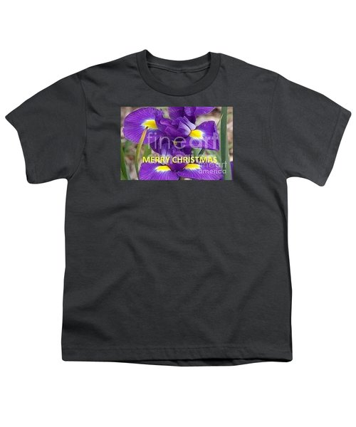 Youth T-Shirt featuring the photograph Christmas Card by Rod Ismay