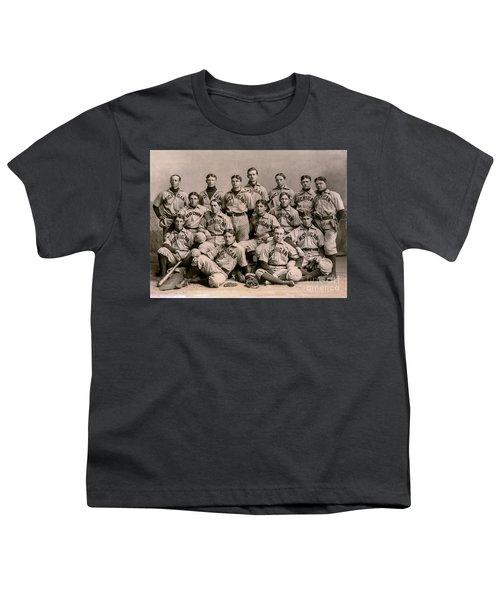 1896 Michigan Baseball Team Youth T-Shirt