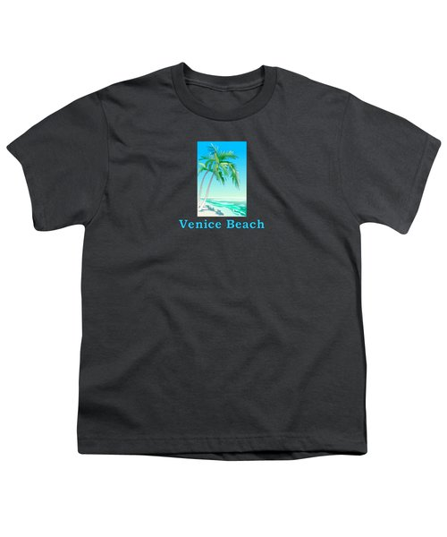 Venice Beach Youth T-Shirt by Brian Edward