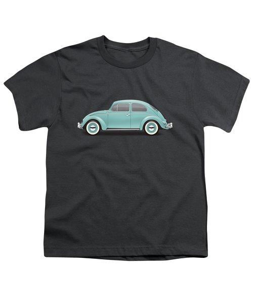 1961 Volkswagen Deluxe Sedan - Turquoise Youth T-Shirt