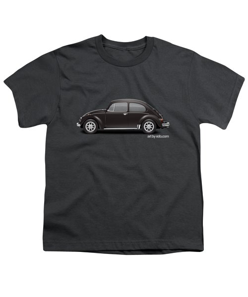 1972 Volkswagen 1300 - Custom Youth T-Shirt by Ed Jackson