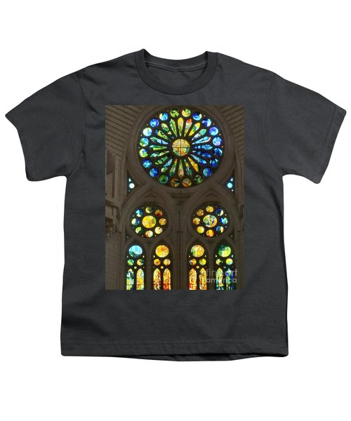 Graphic Art From Photo Library Of Photographic Collection Of Christian Churches Temples Of Place Of  Youth T-Shirt by Navin Joshi