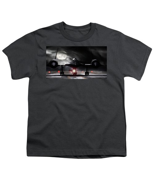 Night Moves Youth T-Shirt by Peter Chilelli