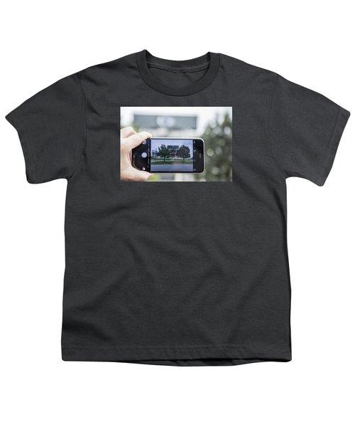 Penn State Beaver Stadium  Youth T-Shirt by John McGraw