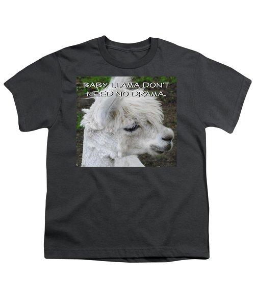 Baby Llama Youth T-Shirt