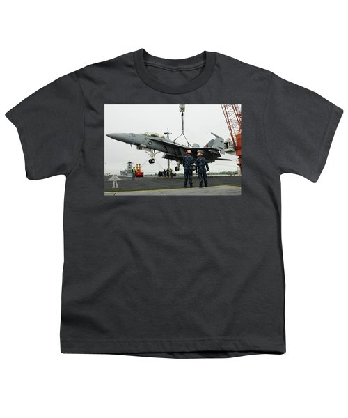 Mcdonnell Douglas F/a-18 Hornet Youth T-Shirt