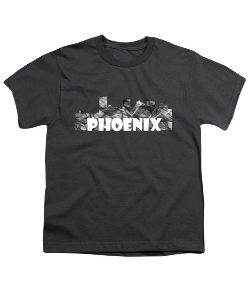 Phoenix Arizona Skyline Youth T-Shirt
