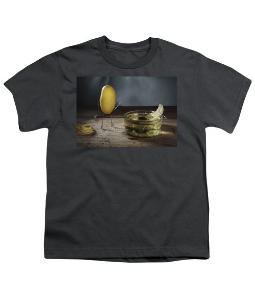 Simple Things - Potatoes Youth T-Shirt by Nailia Schwarz