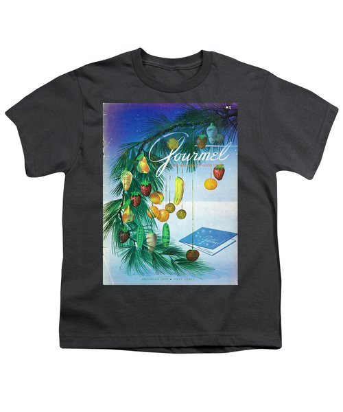 A Gourmet Cover Of Marzipan Fruit Youth T-Shirt