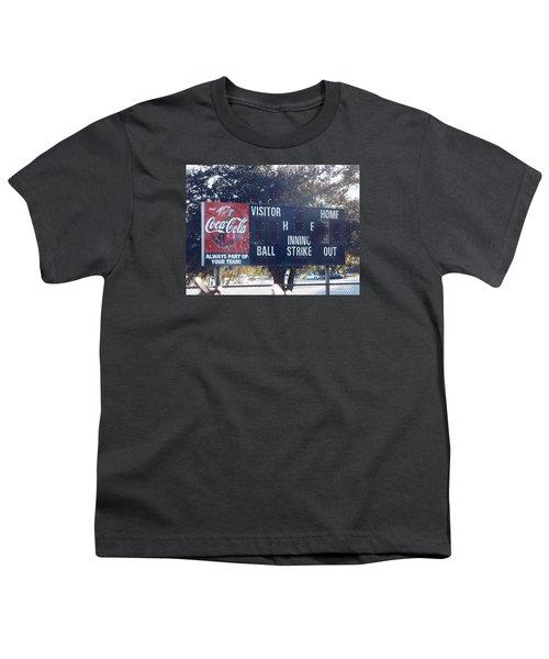 Abandoned Score Board Youth T-Shirt