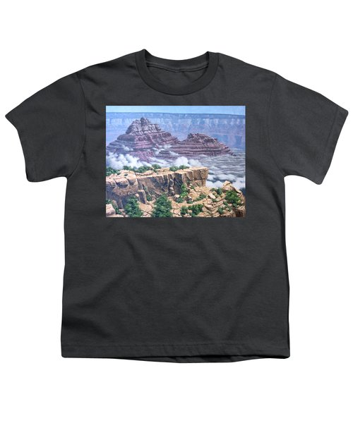 Above The Clouds Grand Canyon Youth T-Shirt by Jim Thomas