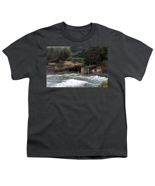 Along The Oregon Coast - 5 Youth T-Shirt