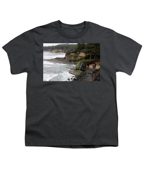 Along The Oregon Coast - 7 Youth T-Shirt