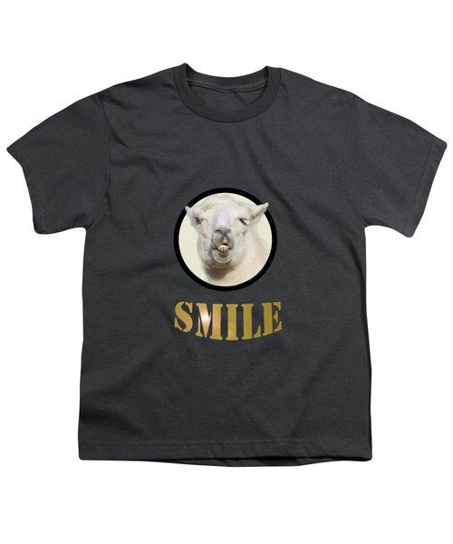 Alpaca Smile  Youth T-Shirt