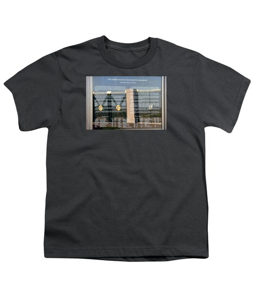 Youth T-Shirt featuring the photograph American Battle Monuments Commission by Travel Pics