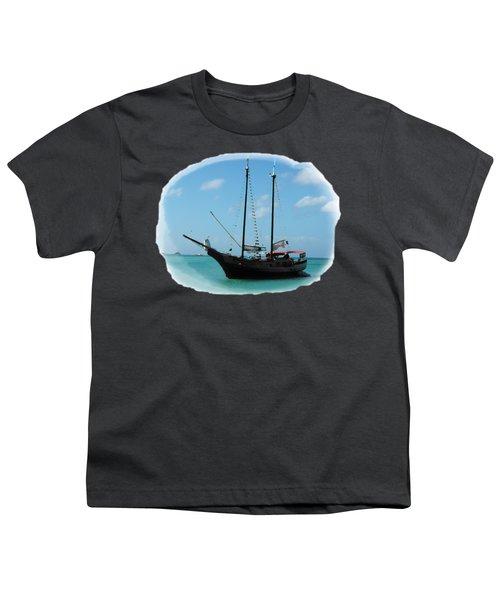 Anchored Youth T-Shirt by David and Lynn Keller