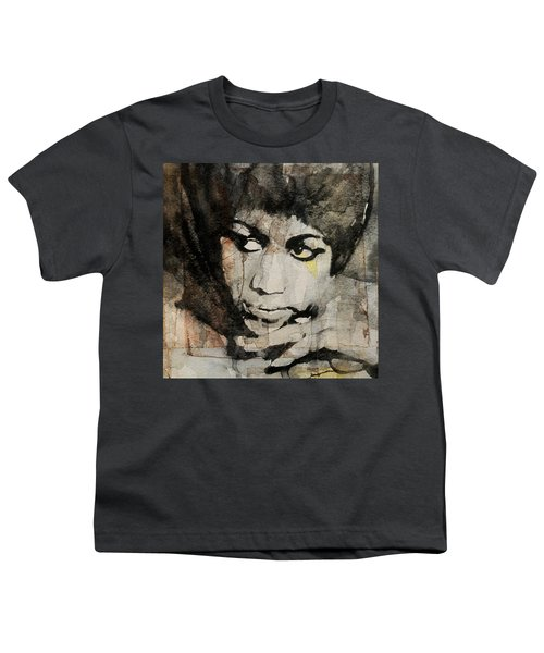 Aretha Franklin - Don't Play That Song For Me  Youth T-Shirt