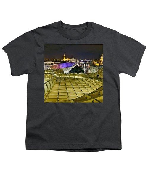 Arriba Las Setas De #sevilla Youth T-Shirt