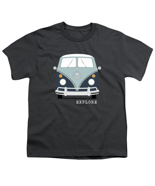 Vw Bus Blue Youth T-Shirt
