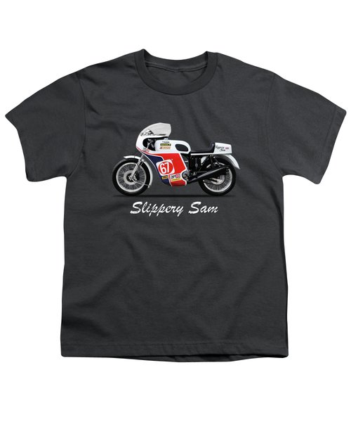 Slippery Sam Production Racer Youth T-Shirt