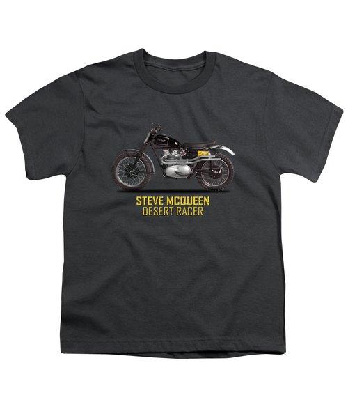 The Steve Mcqueen Desert Racer Youth T-Shirt