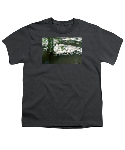 Youth T-Shirt featuring the photograph At Claude Monet's Water Garden 5 by Dubi Roman