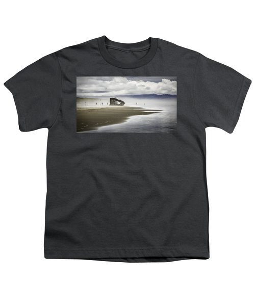 At Peter Iredale Shipwreck Youth T-Shirt