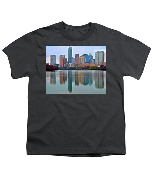 Austin Shimmer  Youth T-Shirt by Frozen in Time Fine Art Photography