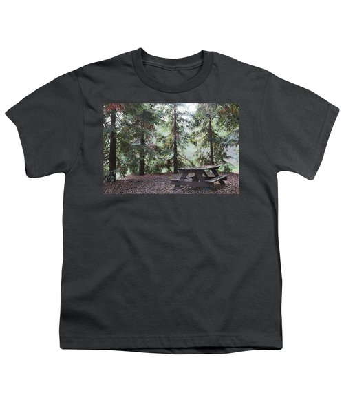 Autumn Picnic In The Woods  Youth T-Shirt