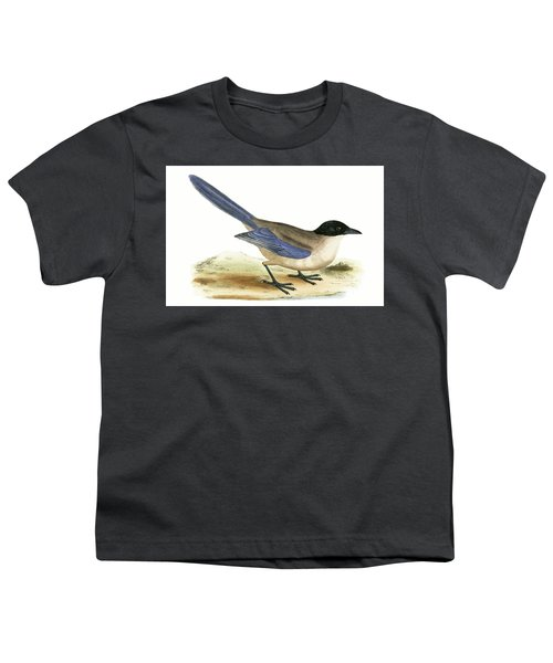 Azure Winged Magpie Youth T-Shirt