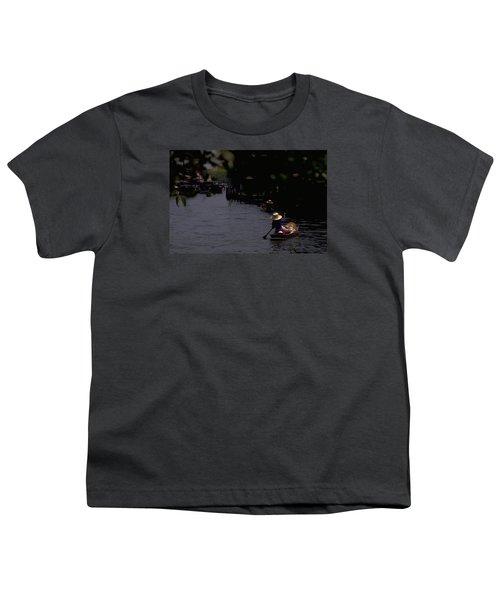 Bangkok Floating Market Youth T-Shirt by Travel Pics