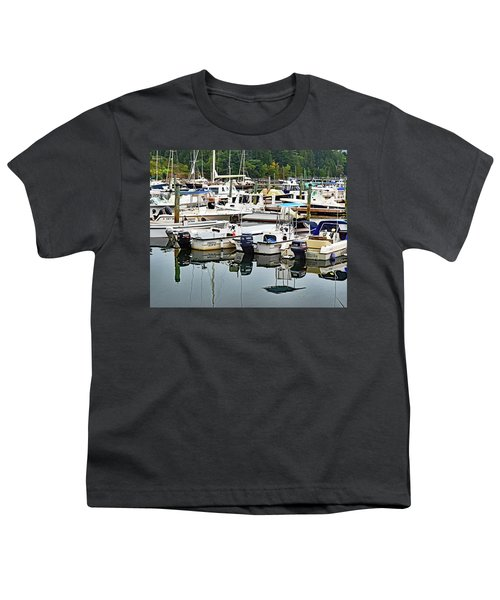Bar Harbor, Maine No. 3 Youth T-Shirt by Sandy Taylor