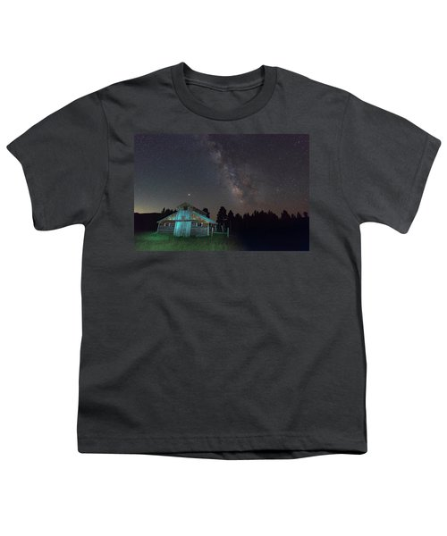 Barn In Rocky Youth T-Shirt